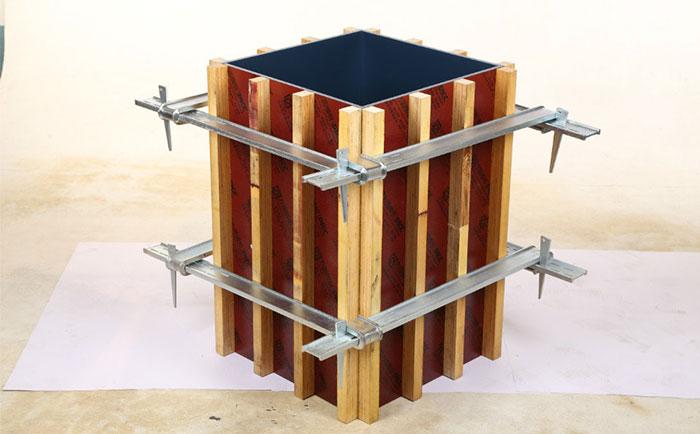 方柱方形卡箍