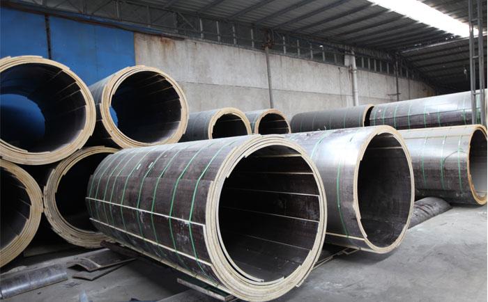 清水混凝土圆柱木模板