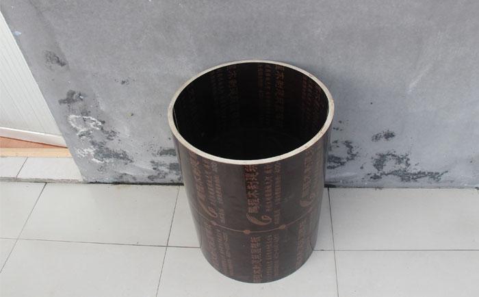 定型yuan柱木模板