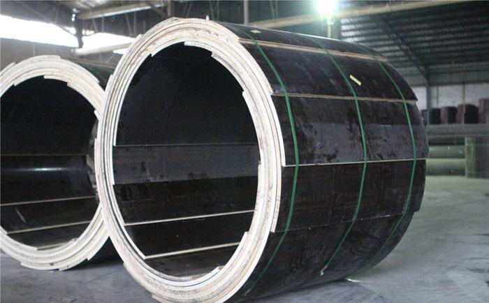 木质建筑圆模板