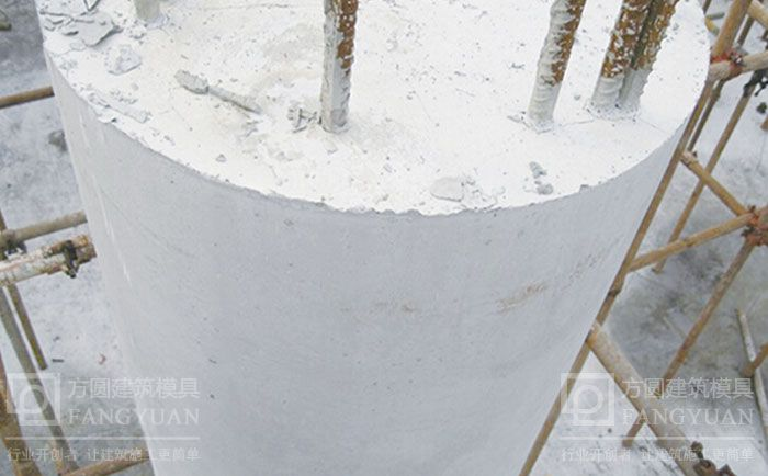 清水模板木制圆模板