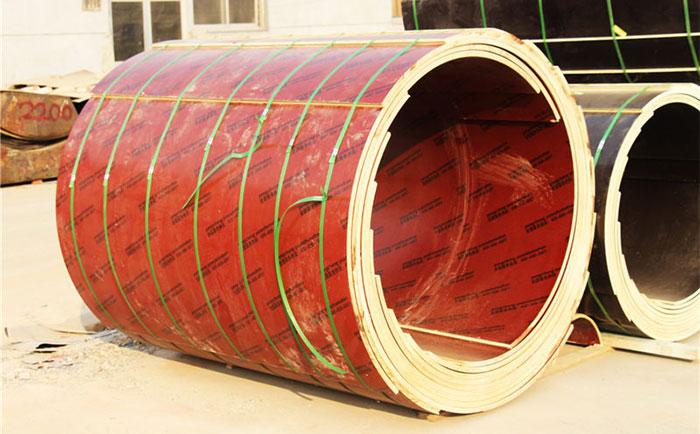 水泥圆柱子定型木模具