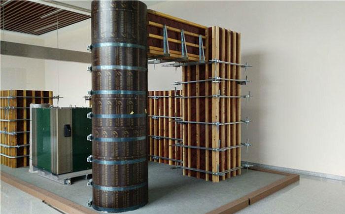 圆柱木模具