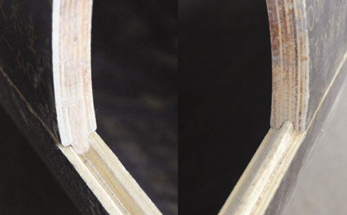 圆柱子模具创新凹凸槽设计