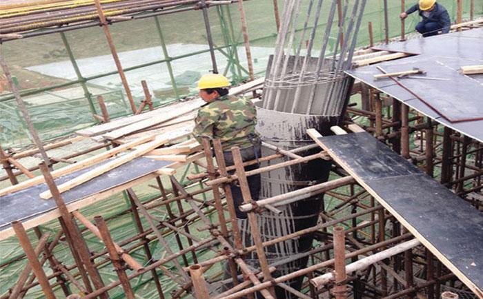 木制圆模板施工