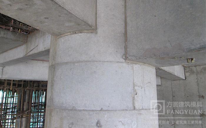 木制圆模板应用于桥梁墩柱的脱模成型