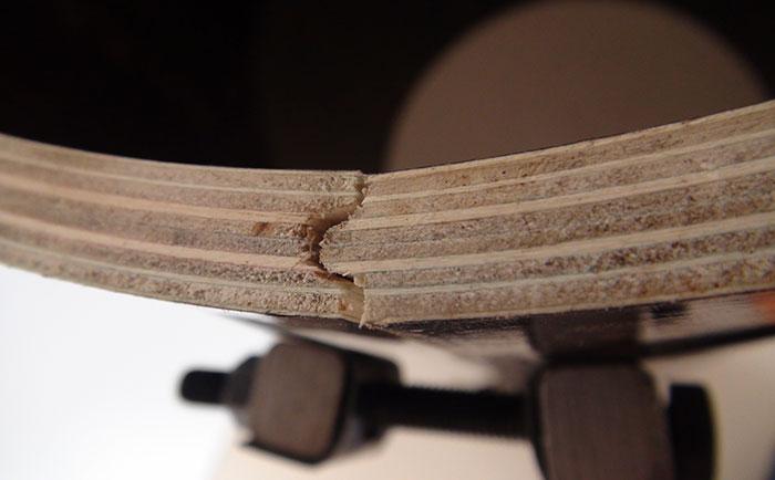 凹凸槽接口浇筑圆柱子不跑浆