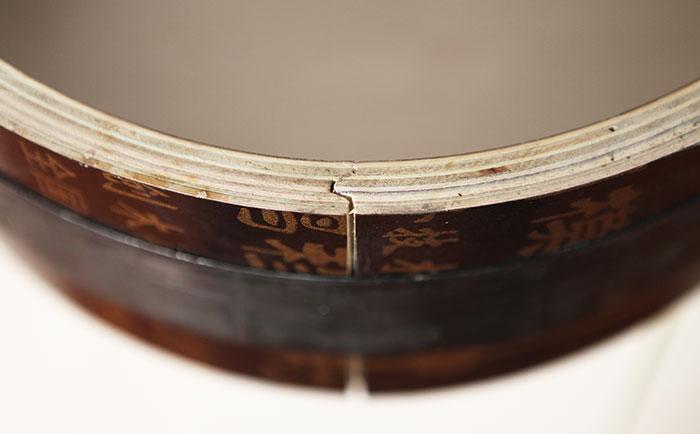 方圆木质圆模板采用凹凸槽接口
