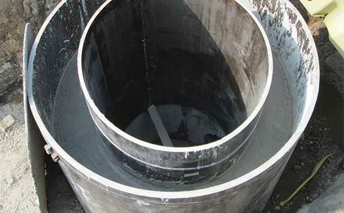 雨水井圆模板