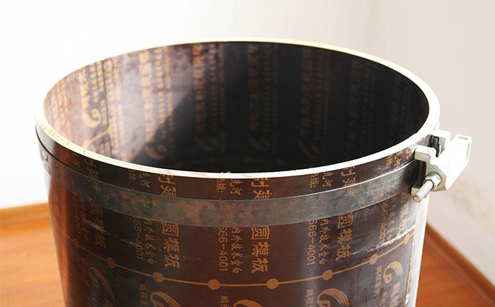木制圆模板