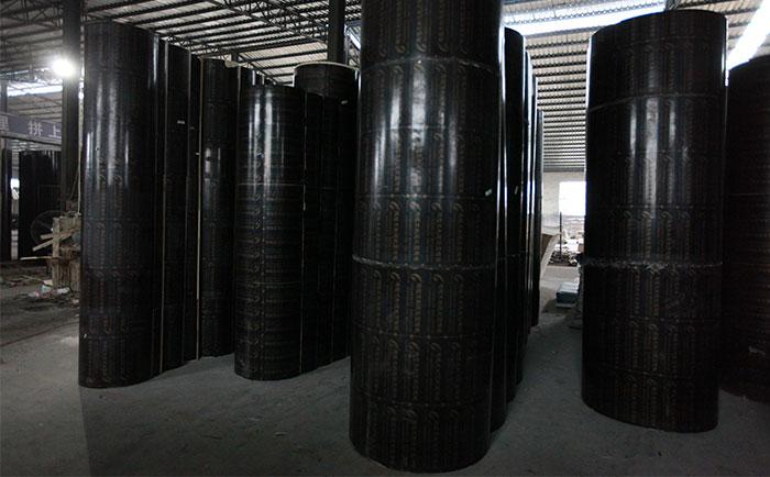 优质圆柱木模板