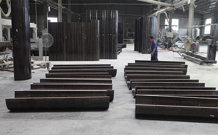 木制圆柱模板加工生产