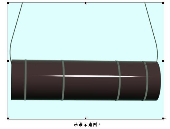 吊装圆柱木模板示意图