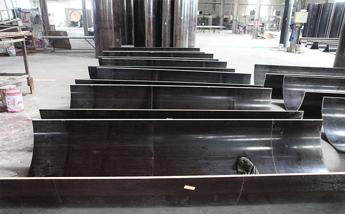 木制圆柱定型模板