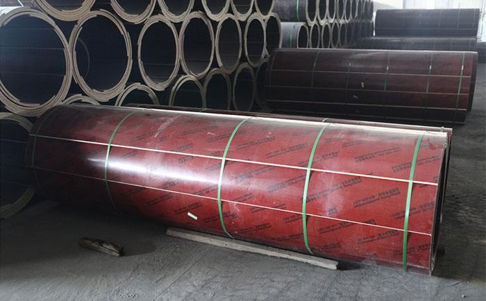 木质圆柱子模板