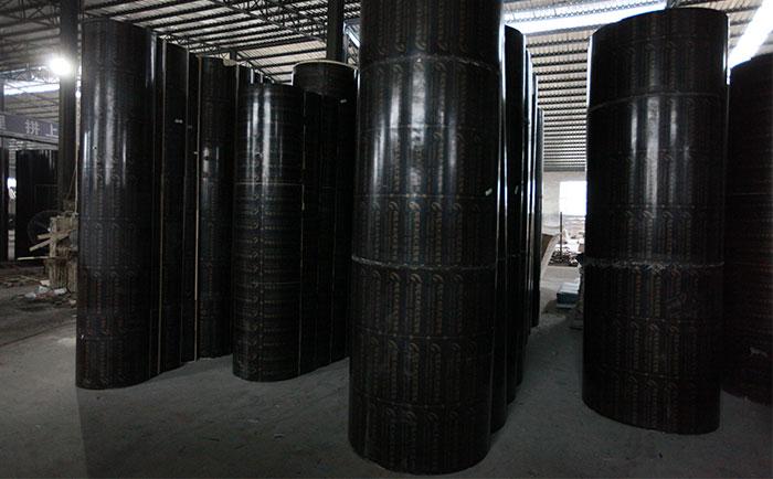 圆柱子木模板