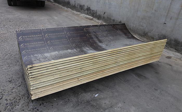 木制圆形模板周转和质量有关