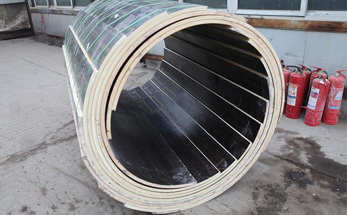 圆形木模板
