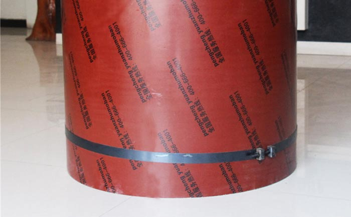 圆形混凝土用什么模板 圆柱子怎么支模板