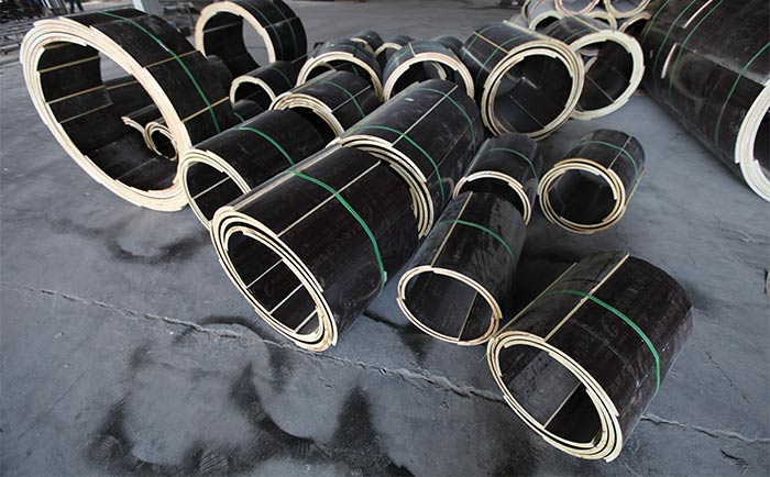 多直径尺寸圆柱木模具