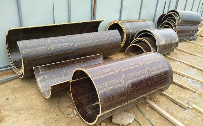 木质圆模板