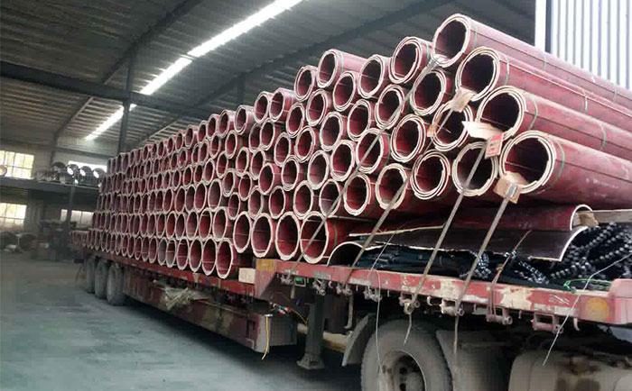 延边木制建筑圆模板卸货吊装时 需要注意哪些问题?