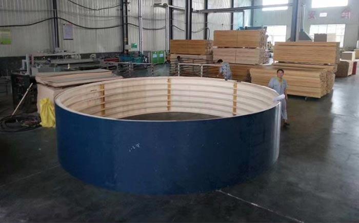 合肥大直径圆模板