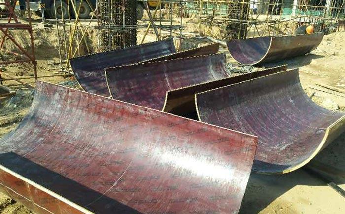 好模板 方圆造!木质建筑圆模板厂家采购优选方圆模具