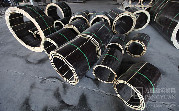 多直径规格圆柱子形模具