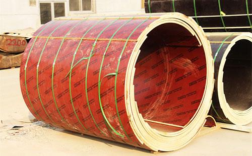混凝土木质圆模板