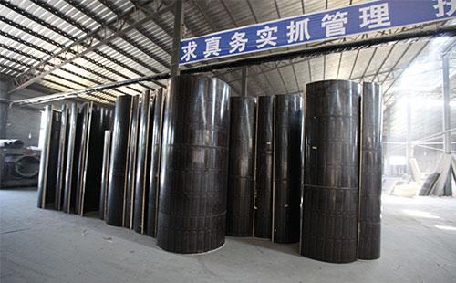 棕膜圆柱木模板