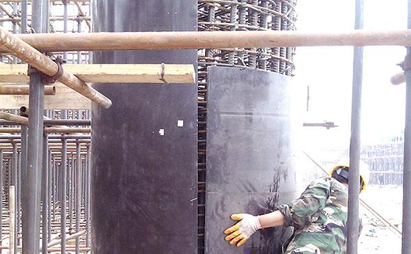圆模板方案 木制圆模板要如何安装施工?