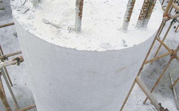 支模混凝土柱子光滑