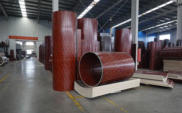 木质建筑圆模板可周转 圆模板的保养可增加次数