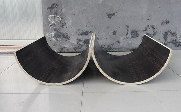 木塑圆模板表面光滑